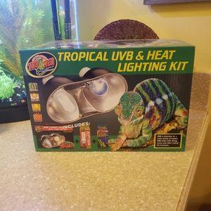 Tropical UVB & Heat Lighting Kit